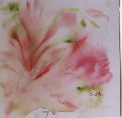 Pink-swirl-watercolour-painting