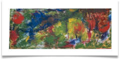 "Abstract 4 :: Oil on Canvas :: 34"" x16"" :: � 553"