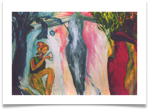 Female Ressurrection :: Oil on Canvas  :; 7' x 5.5' :: �5,593